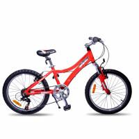 2016宝贝一起出发欧狼20淘气儿童山地自行车减震男女学生单车变速折叠车便携迷你铝合金山地车