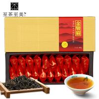 至茶至美 金骏眉红茶 桐木关特级小种红茶茶叶 武夷红茶 100g 武夷山茶 包邮