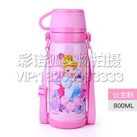 迪士尼不锈钢儿童保温杯卡通男女大容量杯子瓶宝宝水杯小学生水壶