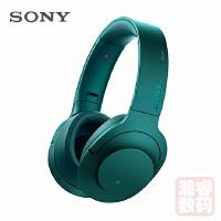 Sony/索尼 MDR-100ABN 头戴式立体声无线蓝牙降噪耳机 翠绿