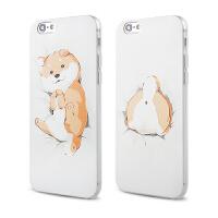 【全国包邮】hidog 苹果iPhone6s plus手机壳萌柴犬狗狗iPhone6保护套软硅胶新