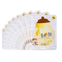 韩国 papa recipe 春雨蜂蜜美白面膜10片蜂胶补水保湿修复 海外直邮