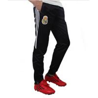 足球训练裤 收腿裤运动长裤男收腿 巴萨罗纳足球服套装运动裤 黑色 L