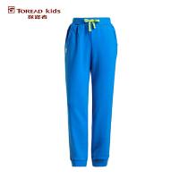 探路者TOREAD品牌童装 户外运动 春装秋装男童女童针织缩口儿童长裤