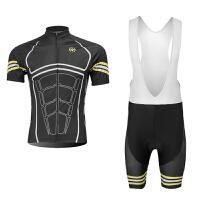 夏短袖单车潮流骑行服自行车赛车运动装备短套装骑行服