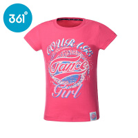 361度童装2017年夏季新款女童短袖T恤短袖针织衫 K61723204