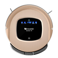 Proscenic(浦桑尼克)P2 S版 智能扫地机器人 家用吸尘器 全自动拖地机器人 土豪金