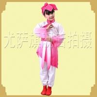 古代儿童汉服国学服 男童民族古装小学生三字经弟子规服装孔子服