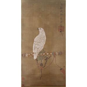 1547   宋徽宗《御鹰图》