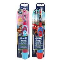 【博朗官方旗舰店】博朗Oral-B 欧乐B儿童电动牙刷DB4510K  卡通造型 时间提醒