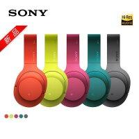 Sony/索尼 MDR-100ABN 头戴式立体声无线蓝牙降噪耳机 朱砂红