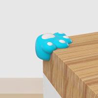 棒棒猪儿童硅胶防撞角 宝宝桌角防护角家具包角保护套8个装