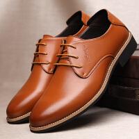 2016新款男士尖头商务皮鞋正装鞋透气黑色增高皮鞋结婚鞋英伦休闲皮鞋板鞋男真皮男鞋