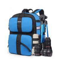 2015双肩摄影包大容量 防盗防水单反包索尼相机包双肩 佳能相机包户外休闲运动背包