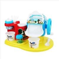 迪士尼雪糕机 儿童DIY玩具 米奇公主可真制作2款冰淇淋雪糕机