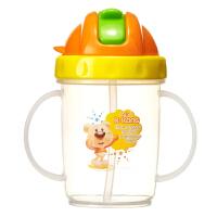 【当当自营】日康 宝宝吸管杯200ml RK-3439(颜色随机)水壶/水杯 新旧替换中