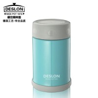 DESLON/德世朗 臻爱焖烧杯保温杯 DZAS-500BL便当盒蓝色饭盒餐盒保温盒 500ML