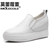 莫蕾蔻蕾   休闲鞋女乐福鞋女单鞋内女鞋板鞋运动鞋 6C015