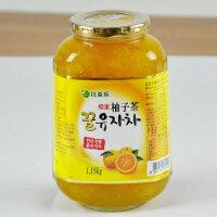 比亚乐蜂蜜柚子茶 韩国原装进口柚子茶1150g/罐 果肉含量58% 包邮