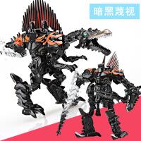 一号玩具 变形金刚合金重涂版蔑视8010B 变形玩具金刚4蔑视恐龙变形机器人