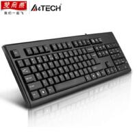 双飞燕 KR-85 有线键盘 PS接头键盘 防水办公游戏键盘  全新盒装正品行货