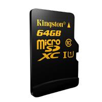金士顿64g Micro存储SD卡超高速tf卡读90写45MB高清手机内存卡64G