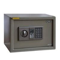 得力4041家用桌面电子密码防盗柜/全钢保险箱/保管箱
