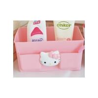 日照鑫 凯蒂猫HelloKitty桌面收纳盒 可爱卡通KT收纳整理盒 化妆品收纳盒一个装