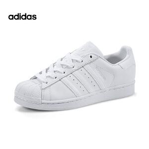 Adidas/阿迪达斯三叶草经典贝壳头小白鞋B27136