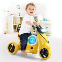 儿童电动摩托三轮车 宝宝玩具车可坐人男女小孩电瓶车充电1-3-6岁