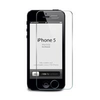 ikodoo爱酷多 苹果iphone5贴膜 iphone5s手机膜 钢化玻璃膜 5S手机 屏幕膜 带弧边2.5D弧形角
