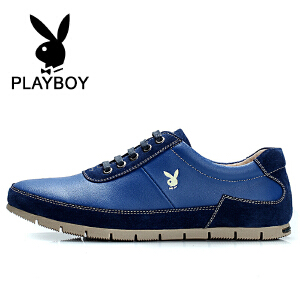 花花公子  时尚休闲男鞋英伦潮流板鞋新款低帮鞋 乐-CX37547