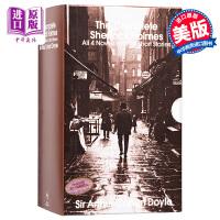 福尔摩斯探案全集英文原版小说 青少年小说 英文版 侦探小说 Sherlock Holmes福尔摩斯英文原版书 进口小说原版书 侦探悬疑推理珍藏全2册全套一起破案卷福夏洛克 柯南道尔