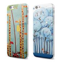 【全国包邮】hidog 苹果iPhone6手机壳4.7卡通全包硅胶6plus保护套5s外壳软胶