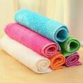 泰蜜熊竹纤维不沾油双层加厚洗碗巾抹布18*23cm(5条装)