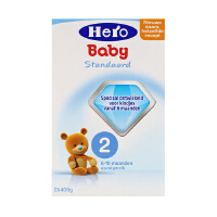 【当当海外购】荷兰Hero Baby本土美素天赋力 新生婴幼儿宝宝奶粉2段(6-10个月宝宝)800g 日期到17年12月左右