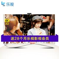 【当当自营】乐视超级电视 第3代X50(X3-50) 50英寸 4K高清3D智能LED液晶电视  挂架版
