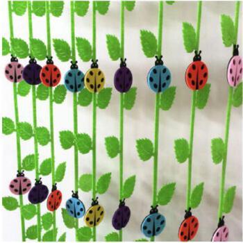 幼儿园教室装饰 瓢虫树叶吊饰 幼儿园吊饰 学校商场墙面贴画贴纸 树叶