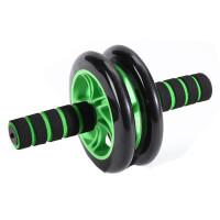 腹肌轮腹轮滚轮巨轮静音瘦腰腹肌训练器家用体育健身