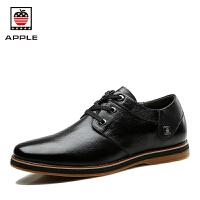 Apple美国苹果2016新款男士休闲皮鞋 真皮头层牛皮软底商务休闲鞋AP-1612