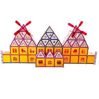 科博 磁力棒儿童早教益智玩具 .拼插建构玩具 智力开发玩具 磁力玩具 礼物 418件桶