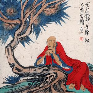 中国艺术研究院中国画院研究员 范扬【空山寂静】Z2809