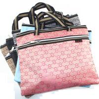 贝多美 A4双拉链手提文件袋定制印刷拉链袋公文包 资料袋 BDM-080
