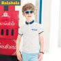 巴拉巴拉男童短袖t恤中大童POLO衫童装夏装儿童学生T恤男