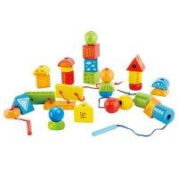 Hape 创意串珠套 3岁以上 儿童益智早教玩具 E1019