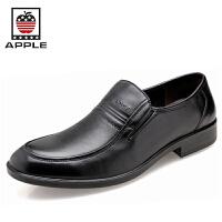苹果APPLE商务真皮正装皮鞋男鞋婚鞋5290029