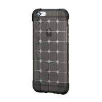 ROCK iPhone6手机壳 防摔硅胶套 苹果6保护套 4.7寸透明全包外壳