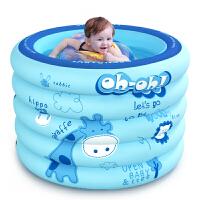 欧培 婴儿游泳池家用保*游泳桶加厚新生儿洗澡盆儿童充气浴盆