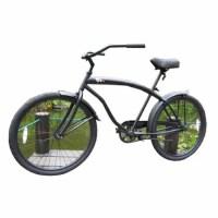 26寸海滩自行车哈雷型城市公路休闲淑女 公路车 山地车 具体颜色咨询客服 26英寸