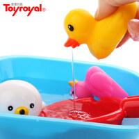 婴儿玩具 日本皇室专柜正品 婴幼儿童戏水喷水玩具 宝宝洗澡玩具
